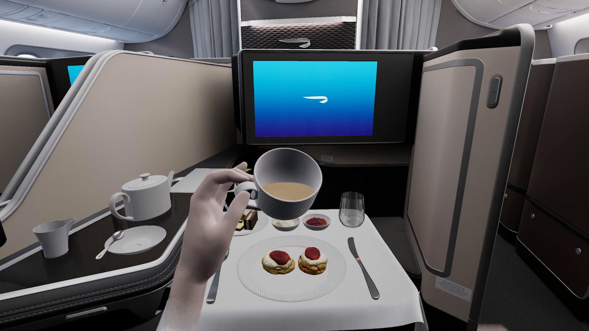 British Airways First Class VR